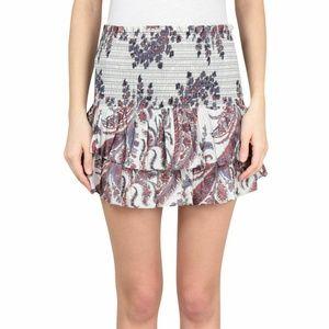 Isabel Marant Shanon Paisley Mini Skirt XS 12193